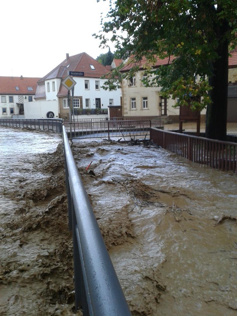 Hochwasser 20.09.2014